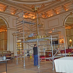 Connecting Winch To A Large Chandelier Scaled